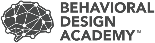 Enroll in the Behavioral Design Academy