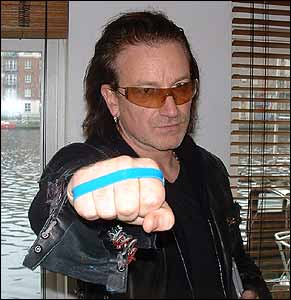 bono - beat bullying bracelet campaign 0 bbc