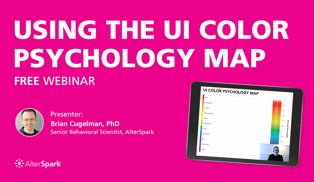Using the UI Color Psychology Map (FREE Webinar)